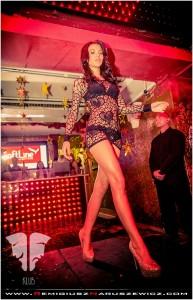 Sukienka z siatki Sweetheart, model 6021